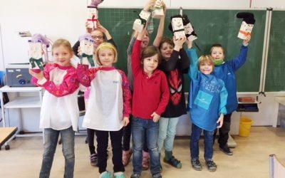 Weihnachtsbasteln in der Grundschule