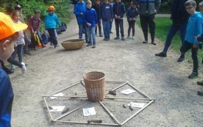 Waldjugendspiele mit der 3. Klasse