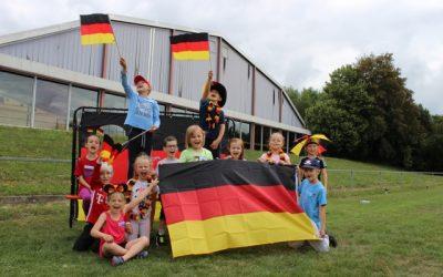 Sportfest unter dem Motto: WM – Länder