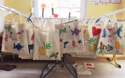 Stofftaschen statt Plastiktüten