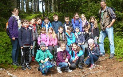 Klassenfahrt zur Bärwurz- Resl- Hüttn in den Bayerischen Wald