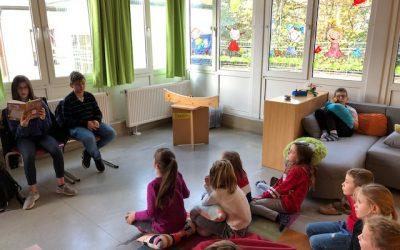 Deutscher Vorlesetag in der Grundschule