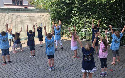 Große Freude bei den Schülerinnen und Schülern der Privaten Grundschule!