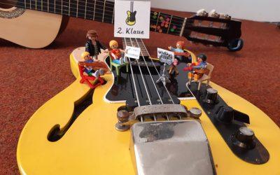 Gitarre lernen per Video – Klasse 2