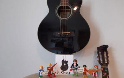 Gitarre lernen per Video – Klasse 3 (8 Videos)